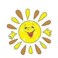 Солнышко лучистое